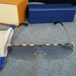 Authentic Louis Vuitton Purple Rain Sunglasses